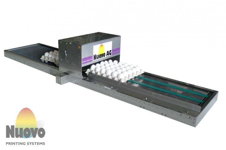 Nuovo Egg Printing and Egg Stamping Systems - Easy Stamp BAN5