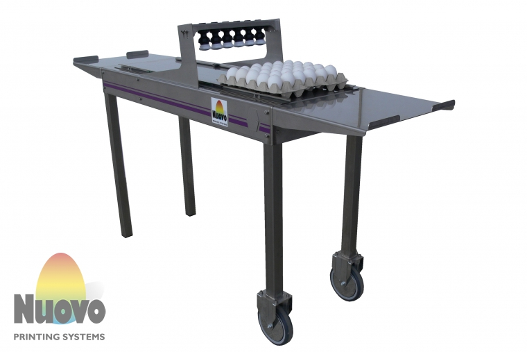 Nuovo Egg Printing and Egg Stamping Systems - Easy Stamp Piccolo
